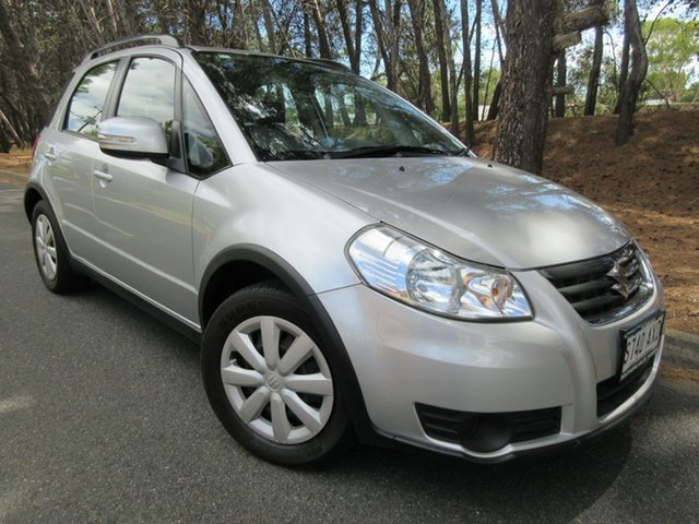 Used Suzuki SX4 GYA MY13 Crossover Navigator Reynella, 2013 Suzuki SX4 GYA MY13 Crossover Navigator Grey 6 Speed Constant Variable Hatchback