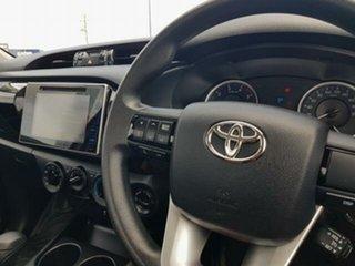 2018 Toyota Hilux GUN126R SR Glacier White 6 Speed Sports Automatic Cab Chassis