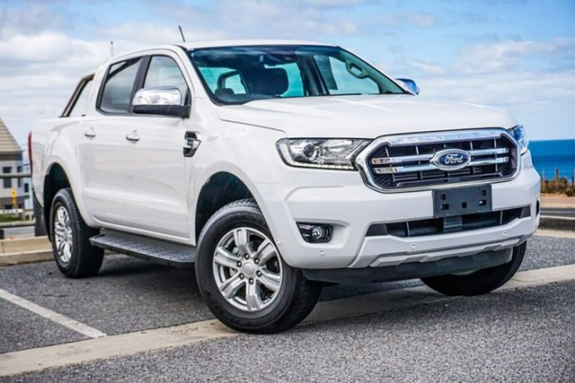 Used Ford Ranger PX MkIII 2019.00MY XLT Hi-Rider Christies Beach, 2019 Ford Ranger PX MkIII 2019.00MY XLT Hi-Rider White 10 Speed Sports Automatic Double Cab Pick Up