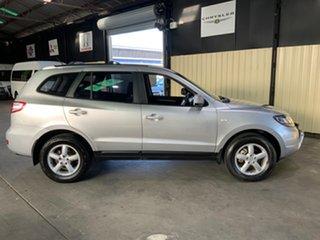 2008 Hyundai Santa Fe CM MY09 Upgrade SX CRDi (4x4) Silver 5 Speed Automatic Wagon.