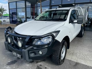 2018 Mazda BT-50 MY18 XT (4x4) White 6 Speed Manual Cab Chassis