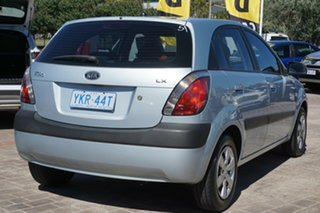 2008 Kia Rio JB MY07 LX Blue 5 Speed Manual Hatchback