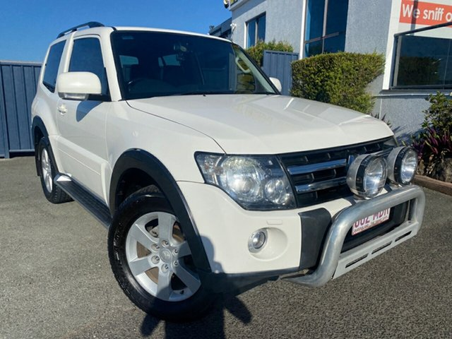 Used Mitsubishi Pajero NS X Slacks Creek, 2007 Mitsubishi Pajero NS X White Solid 5 Speed Sports Automatic Hardtop