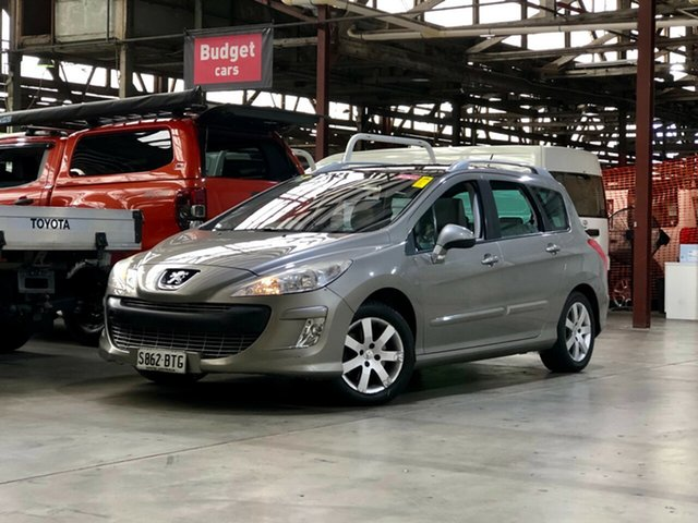 Used Peugeot 308 T7 XSE Turbo Touring Mile End South, 2011 Peugeot 308 T7 XSE Turbo Touring Champagne 6 Speed Sports Automatic Wagon