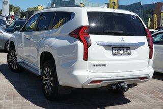 2020 Mitsubishi Pajero Sport QF MY20 GLS White 8 Speed Sports Automatic Wagon