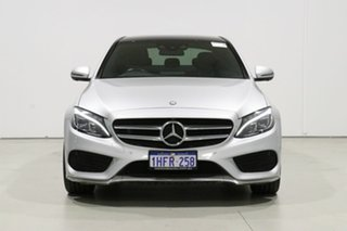 2017 Mercedes-Benz C200 205 MY17.5 Silver 9 Speed Automatic G-Tronic Sedan.