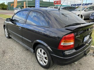 2003 Holden Astra TS SXI Black 4 Speed Automatic Hatchback.