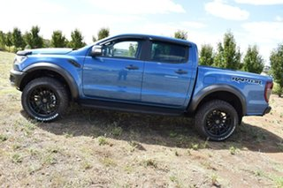 2019 Ford Ranger PX MkIII 2020.25MY Raptor Blue 10 Speed Sports Automatic Double Cab Pick Up