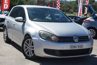 2009 Volkswagen Golf VI MY10 103TDI DSG Comfortline Silver 6 Speed Sports Automatic Dual Clutch.