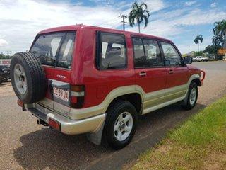 1996 Holden Jackaroo UBS II SE Red 5 Speed Manual Wagon