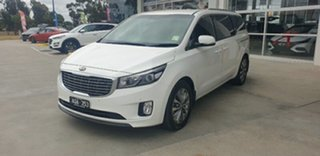 2017 Kia Carnival YP MY18 SLi Clear White 6 Speed Sports Automatic Wagon