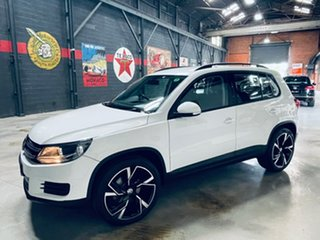 2015 Volkswagen Tiguan 5N MY16 118TSI DSG 2WD White 6 Speed Sports Automatic Dual Clutch Wagon