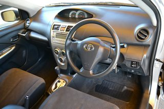 2006 Toyota Yaris NCP93R YRS Silver 4 Speed Automatic Sedan.