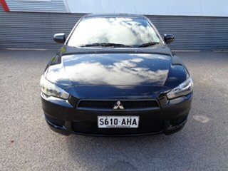 2010 Mitsubishi Lancer CJ MY10 Activ Black 5 Speed Manual Sedan
