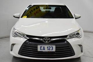 2016 Toyota Camry ASV50R MY15 Altise White 6 Speed Automatic Sedan.