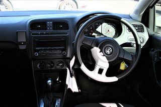 2014 Volkswagen Polo 6R MY14.5 Trendline White 7 Speed Auto Direct Shift Hatchback