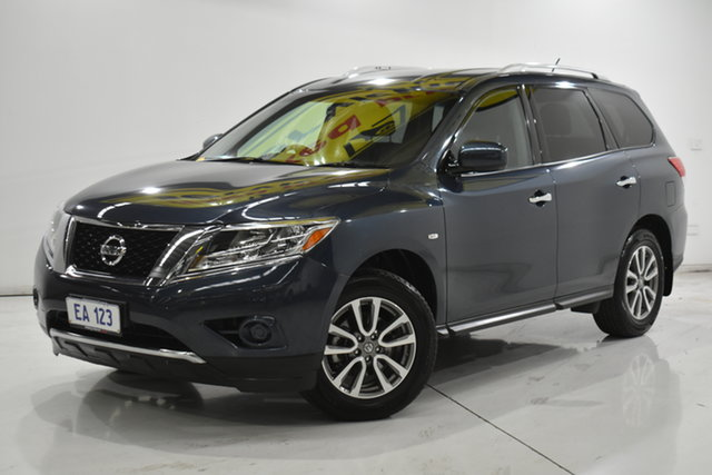 Used Nissan Pathfinder R52 MY14 ST X-tronic 2WD Brooklyn, 2013 Nissan Pathfinder R52 MY14 ST X-tronic 2WD Blue 1 Speed Constant Variable Wagon