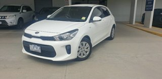 2017 Kia Rio YB MY17 S Clear White 4 Speed Sports Automatic Hatchback.