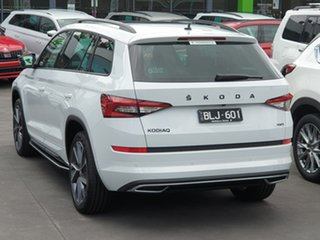 2020 Skoda Kodiaq NS MY21 132TSI DSG Sportline White 7 Speed Sports Automatic Dual Clutch Wagon