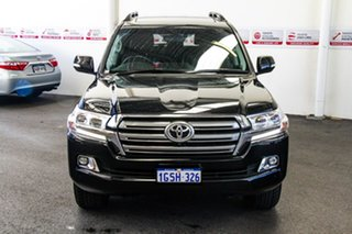 2018 Toyota Landcruiser VDJ200R VX Eclipse Black 6 Speed Sports Automatic Wagon