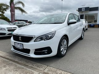 2017 Peugeot 308 T9 Active White Sports Automatic Hatchback.