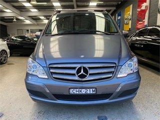2012 Mercedes-Benz Viano 639 BlueEFFICIENCY Grey Automatic Wagon.