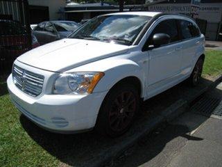 2011 Dodge Caliber PM MY10 SXT White 6 Speed CVT Auto Sequential Hatchback.