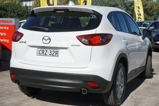 2014 Mazda CX-5 KE1071 MY14 Maxx SKYACTIV-Drive White 6 Speed Sports Automatic Wagon
