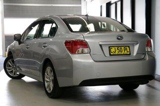 2016 Subaru Impreza G4 MY16 2.0i Lineartronic AWD Silver 6 Speed Constant Variable Sedan.