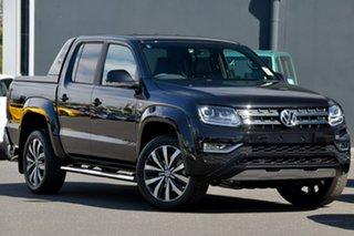 2021 Volkswagen Amarok 2H MY21 TDI580 4MOTION Perm Aventura Black 8 Speed Automatic Utility.