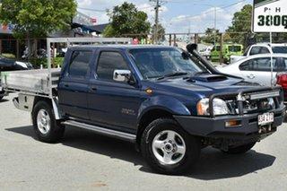 2013 Nissan Navara D22 Series 5 ST-R (4x4) Blue 5 Speed Manual Dual Cab Pick-up.