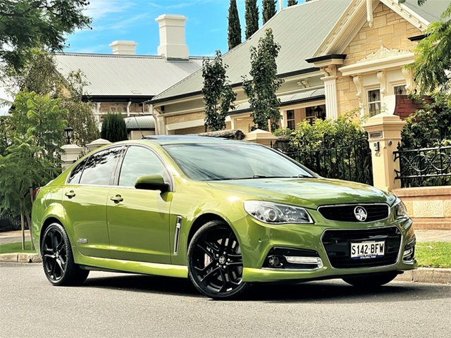 Used Holden Commodore VF MY15 SS V Redline Hyde Park, 2015 Holden Commodore VF MY15 SS V Redline Green 6 Speed Sports Automatic Sedan