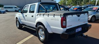 2015 Nissan Navara D22 S5 ST-R White 5 Speed Manual Utility