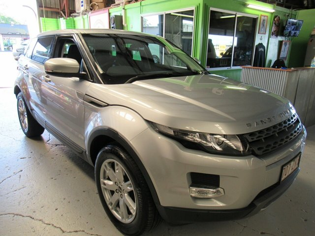 Used Land Rover Range Rover Evoque L538 MY12 SD4 CommandShift Pure, 2012 Land Rover Range Rover Evoque L538 MY12 SD4 CommandShift Pure Silver 6 Speed Sports Automatic