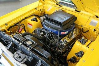 1971 Ford Falcon XY GT Yellow 4 Speed Manual Sedan