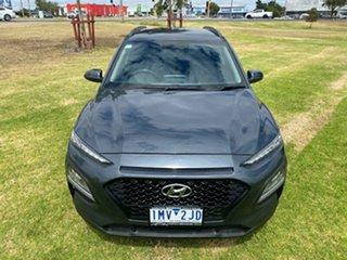 2018 Hyundai Kona OS MY18 Active 2WD Dark Knight 6 Speed Sports Automatic Wagon