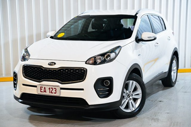 Used Kia Sportage QL MY18 Si AWD Hendra, 2017 Kia Sportage QL MY18 Si AWD White 6 Speed Sports Automatic Wagon