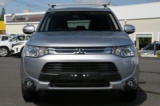 2014 Mitsubishi Outlander ZJ MY14.5 Aspire 4WD Silver 6 Speed Sports Automatic Wagon