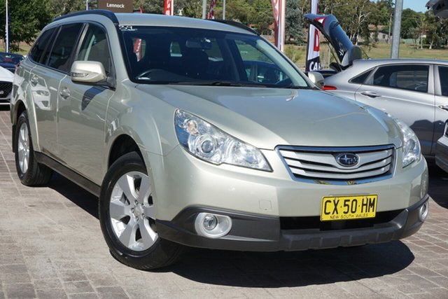 Used Subaru Outback B5A MY11 2.5i Lineartronic AWD Phillip, 2011 Subaru Outback B5A MY11 2.5i Lineartronic AWD Gold 6 Speed Constant Variable Wagon