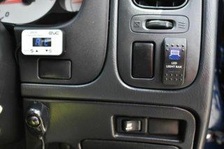 2013 Nissan Navara D22 Series 5 ST-R (4x4) Blue 5 Speed Manual Dual Cab Pick-up