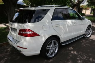 2012 Mercedes-Benz M-Class W166 ML350 BlueTEC 7G-Tronic + White 7 Speed Sports Automatic Wagon.