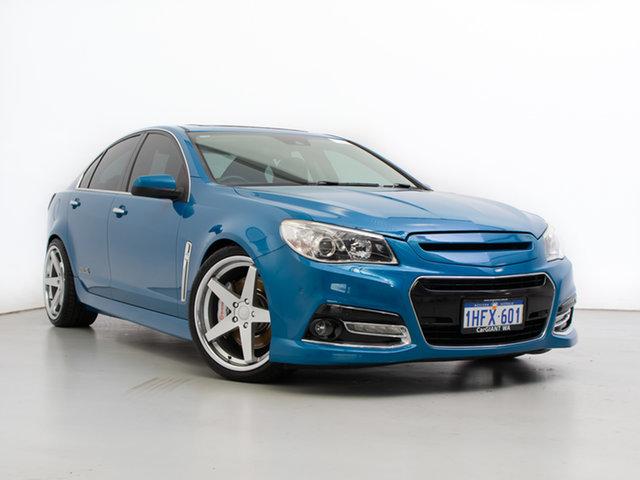 Used Holden Commodore VF SS-V Redline, 2014 Holden Commodore VF SS-V Redline Blue 6 Speed Manual Sedan