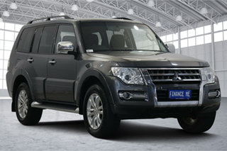 2018 Mitsubishi Pajero NX MY18 GLX Graphite 5 Speed Sports Automatic Wagon.