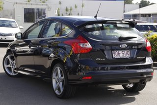 2012 Ford Focus LW Titanium PwrShift Panther Black 6 Speed Sports Automatic Dual Clutch Hatchback.