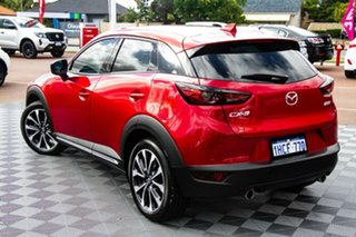 2020 Mazda CX-3 DK4W7A sTouring SKYACTIV-Drive i-ACTIV AWD Red/Black 6 Speed Sports Automatic Wagon.