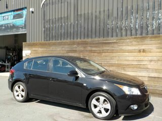 2013 Holden Cruze JH Series II MY14 Equipe Black 6 Speed Sports Automatic Hatchback.