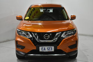 2018 Nissan X-Trail T32 Series 2 ST (2WD) Orange Continuous Variable Wagon.