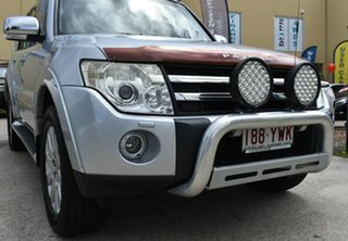 2007 Mitsubishi Pajero NS Exceed LWB (4x4) Silver 5 Speed Auto Sports Mode Wagon