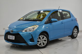 2018 Toyota Yaris NCP130R Ascent Blue 4 Speed Automatic Hatchback.