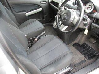 2008 Mazda 2 DE10Y1 Genki Silver 4 Speed Automatic Hatchback